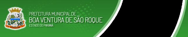 concurso Prefeitura de Boa Ventura de São Roque - PR