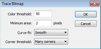 """kali ini saya akan membagikan tentang cara/tutorial mengubah photo/gambar menjadi kartun dengan program Macromedia flash pro 8, sebenarnya tutorial ini hanya mengubah gambar """"bmp"""" menjadi """"vector"""", tapi setelah saya lihat-lihat, ternyata cara ini bisa juga digunakan dan dikembangkan untuk mengedit photo menjadi kartun, sebenarnya mengubah gambar menjadi kartun bisa juga menggunakan photoshop, tetapi karena tutorial blog ini berbasis Flash, maka saya akan membagikan tentang caranya hanya lewat program Flash. Tutorial ini tidak begitu sulit, karena hanya tinggal klik sana klik sini, tidak menggunakan Action Script"""