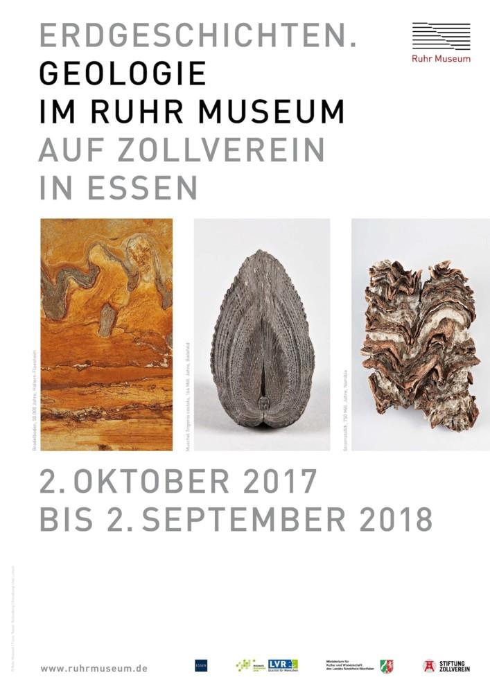 """Erdgeschichten. Geologie im Ruhr Museum"""""""