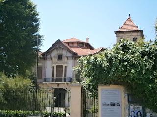η Βίλα Καπάντζη στην Θεσσαλονίκη