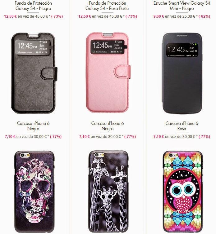 Fundas iPhone, S4, S5