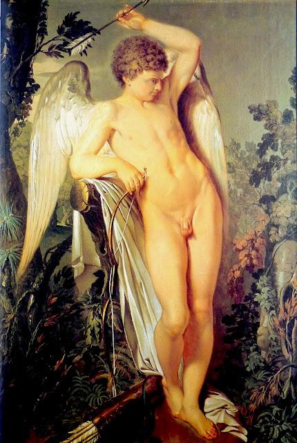 Bartolomeo Ottolini - Amore - arte - nudo maschile