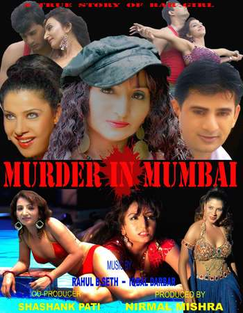 Poster Of Murder In Mumbai 2012 Hindi 350MB HDRip 480p Free Download Watch Online