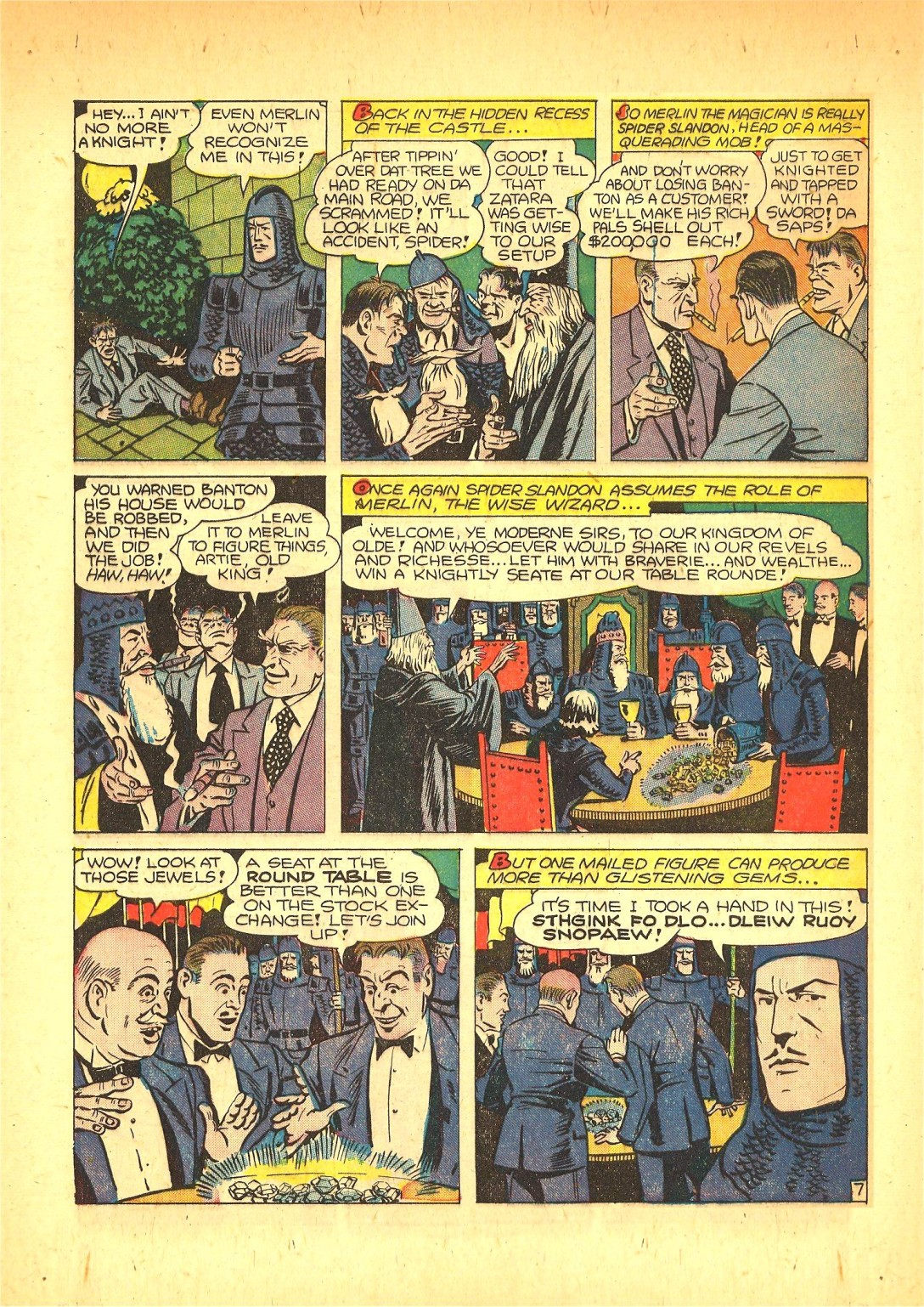 Read online Action Comics (1938) comic -  Issue #72 - 55