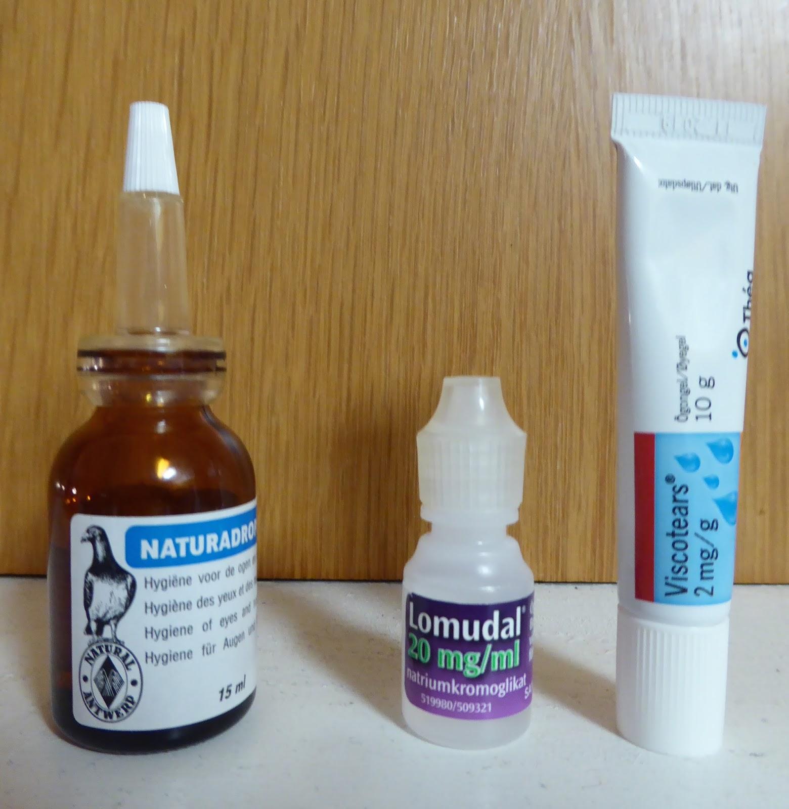 ögondroppar mot pollenallergi