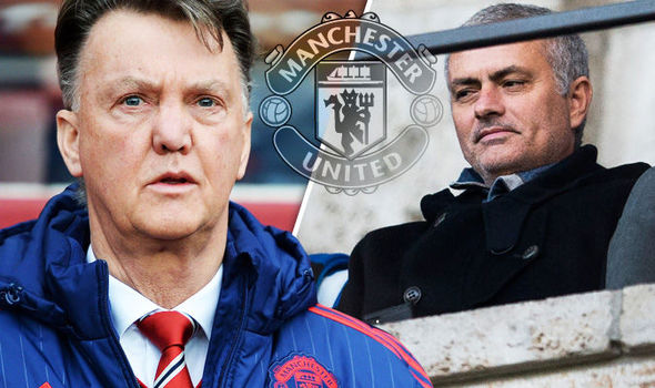 Van Gaal remains under pressure at Manchester United with Jose Mourinho waiting in the wings
