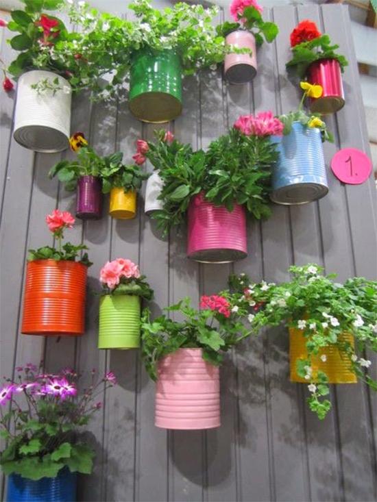 latas recicladas, latas pintadas, latas, latinhas, faça você mesmo, diy, painted tin can, tin can recycle, a casa eh sua, acasaehsua, reciclagem, sustentabilidade, upcycling