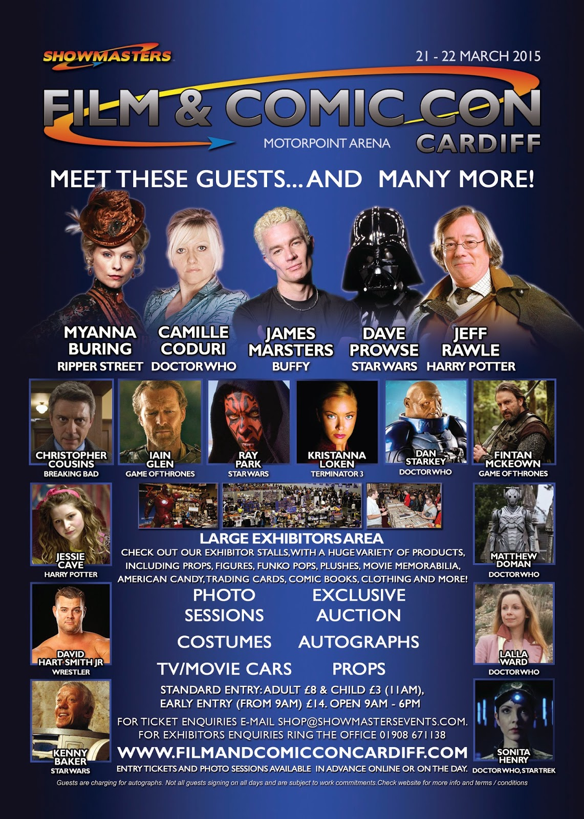 cardiff film and comic con