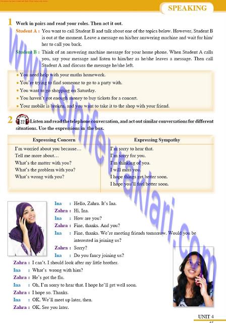 Tutku Yayınları 8. Sınıf İngilizce Ders Kitabı Cevapları Sayfa 45
