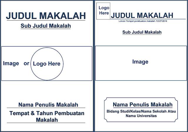 Contoh desain cover makalah