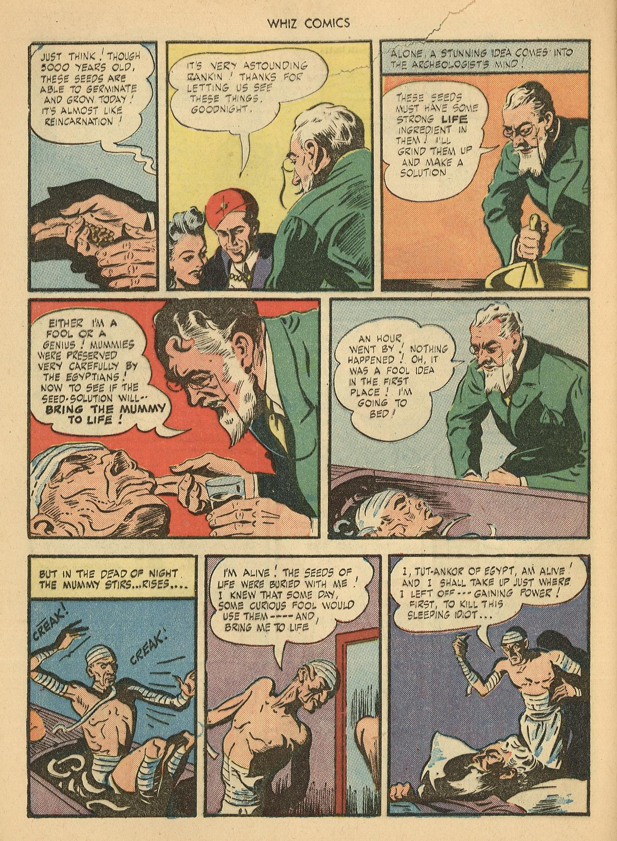 WHIZ Comics issue 67 - Page 28