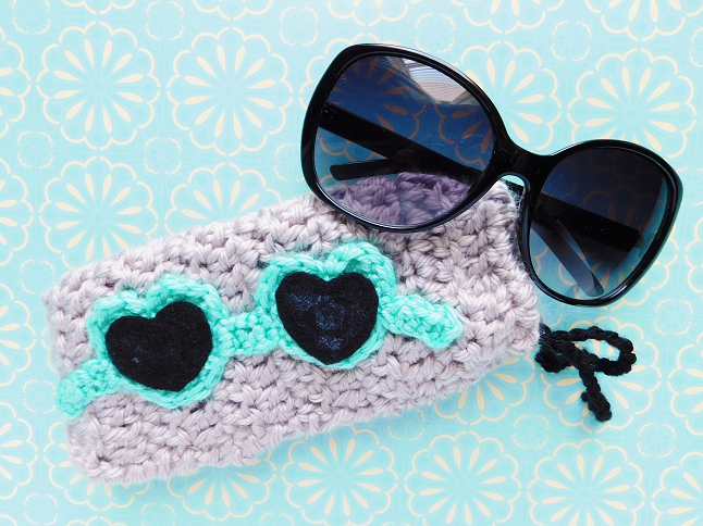 Sunglasses Pouch Crochet Pattern