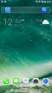 Download Tema iPhone iOS 10 untuk Android Terbaru Keren
