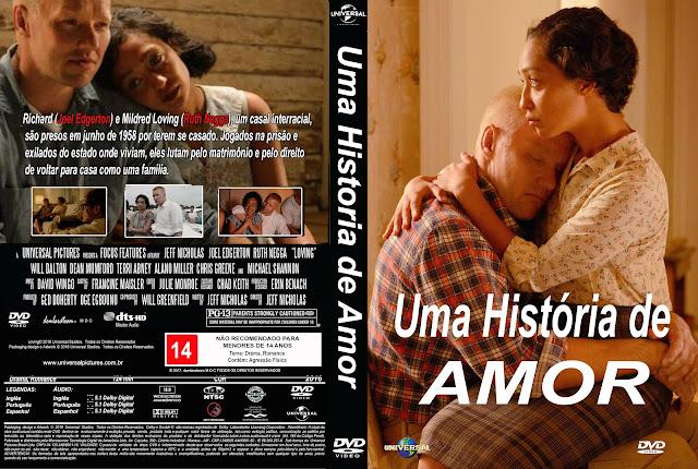 Capa DVD Uma História De Amor