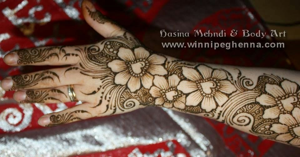 Mehndi Lotus Drawing : Latest shaded mehndi designs for all occasion with