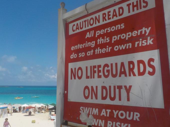Bahama Nassau, Paradise Island ja Cabbage Beach