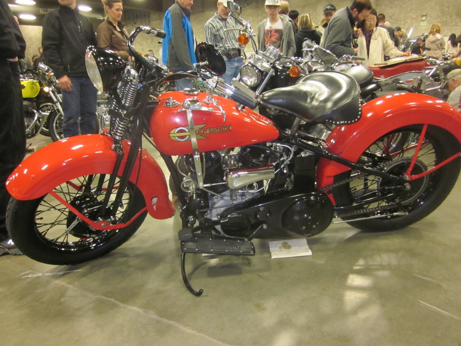 Oldmotodude 1936 Harley Davidson Vld Judged Quot Best In Show