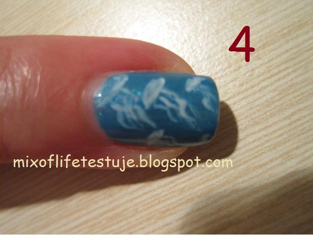 jellyfish, jellyfish nails, jellyfish nail
