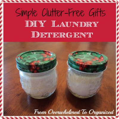 Simple Gifts Diy Laundry Soap From Overwhelmed To Organized Simple Gifts Diy Laundry Soap