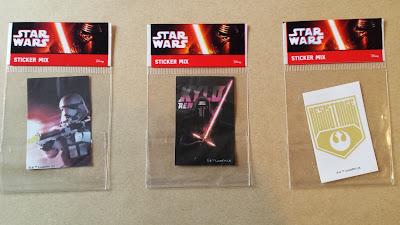 star wars the force awakens stickers