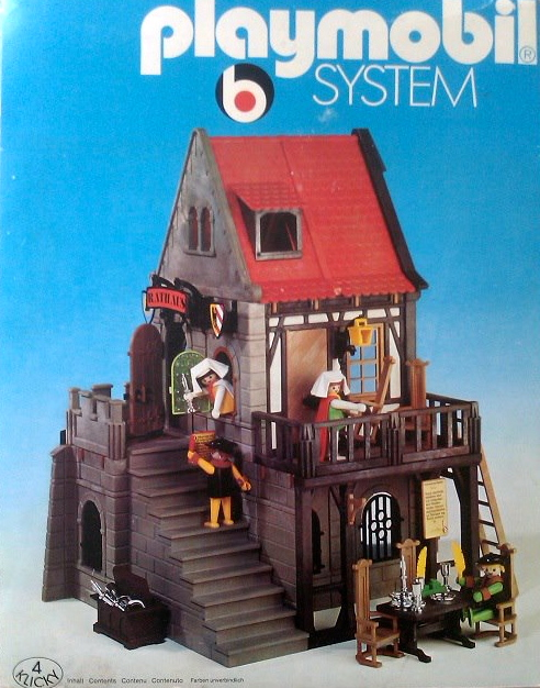 El dragon dorado clicks de playmobil 1974 1982 for Casa del arbol playmobil carrefour