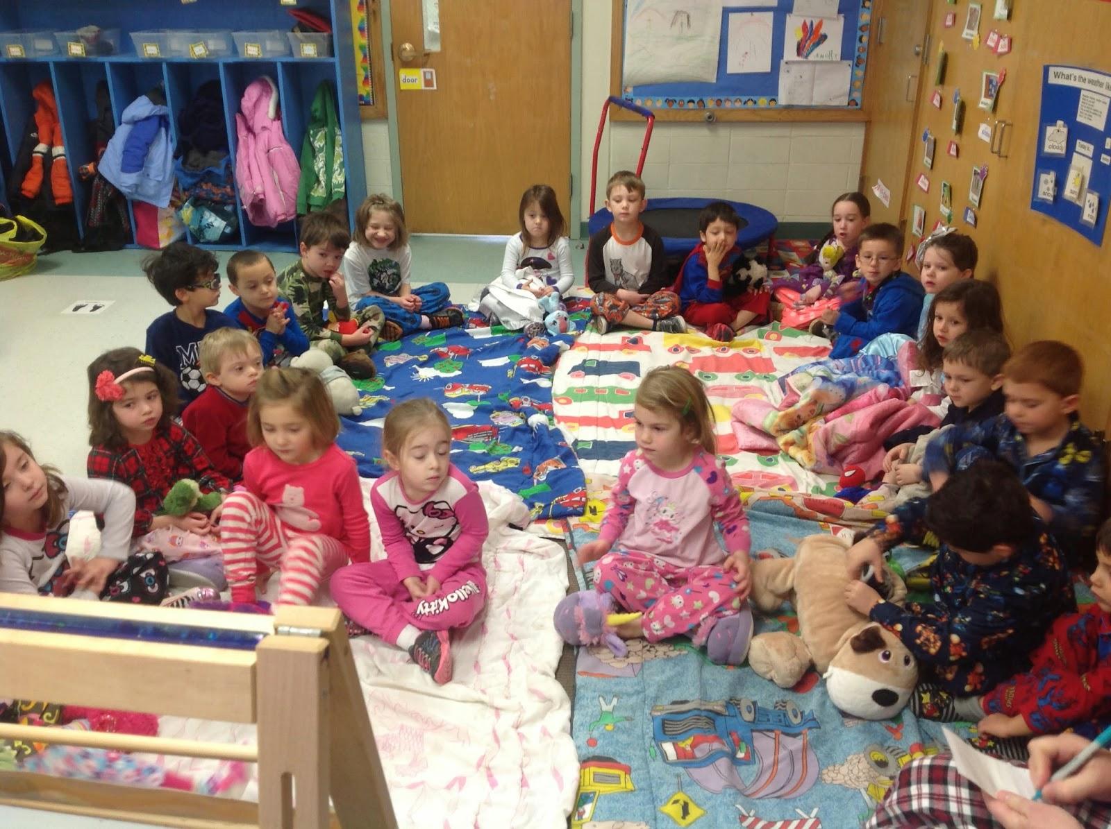 Mrs Rogers Kindergarten Happenings Pajama Day Fun