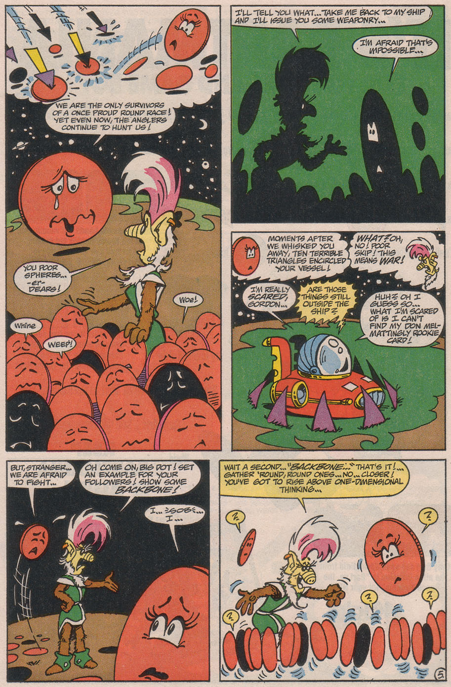 Read online ALF comic -  Issue #49 - 8