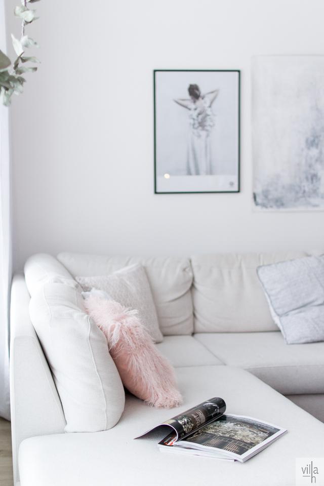 pastel, olohuone, sisutus, interior, diy, painting