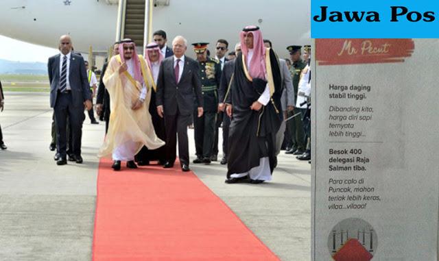 Koran Jawa Pos Dianggap Lecehkan 400 Delegasi Oleh Netizen