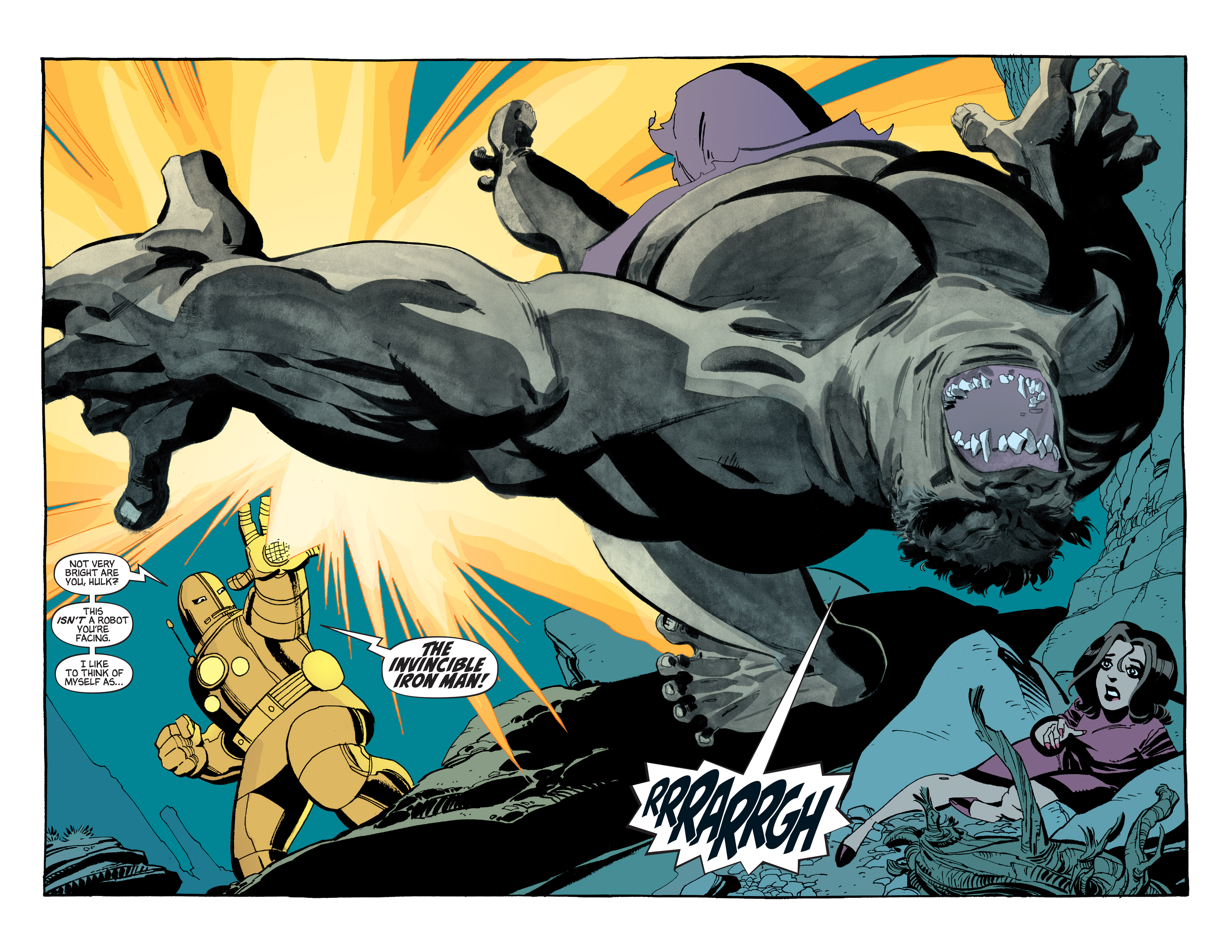 Read online Hulk: Gray comic -  Issue #4 - 4