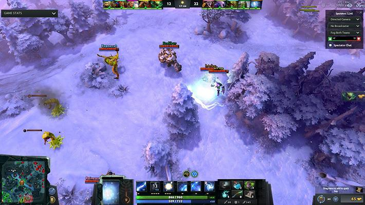 Winter Terrain Dota 2 Mods