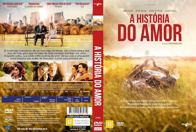 Capa DVD A História do Amor [Exclusiva]