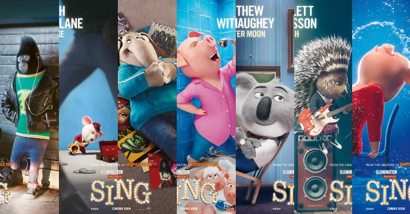 Film Freeq Review Sing 2016