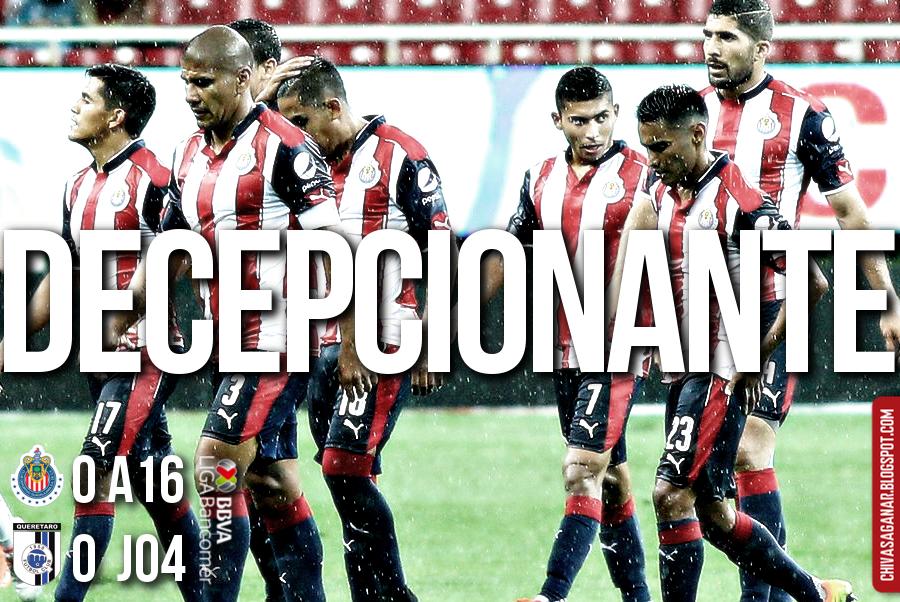 Ligaa MX : CD Guadalajara 0-0 Querétaro FC - Apertura 2016 - Jornada 4.