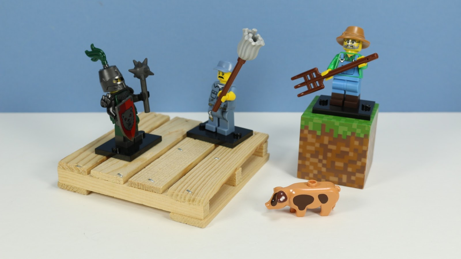 Lego Figures Toys : The toy museum lego minifigures series collection
