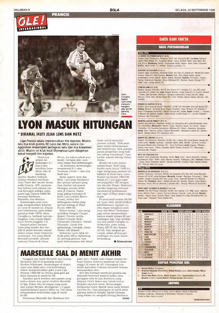 LIGA PRANCIS LYON MASUK HITUNGAN