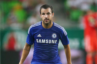 Sport: Fabregas finally confesses to throwing pizza at Sir Alex Ferguson