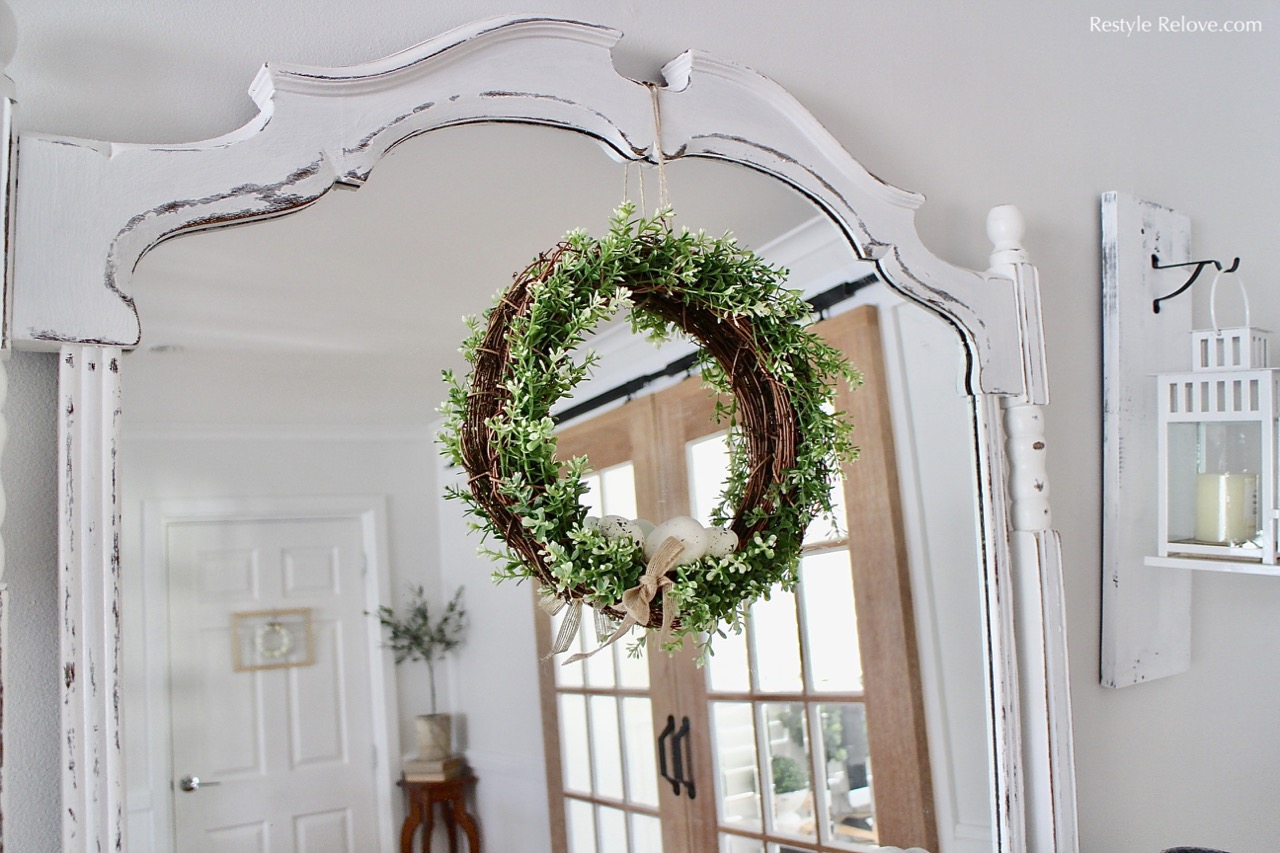 DIY Ikea Spring/Easter Wreath