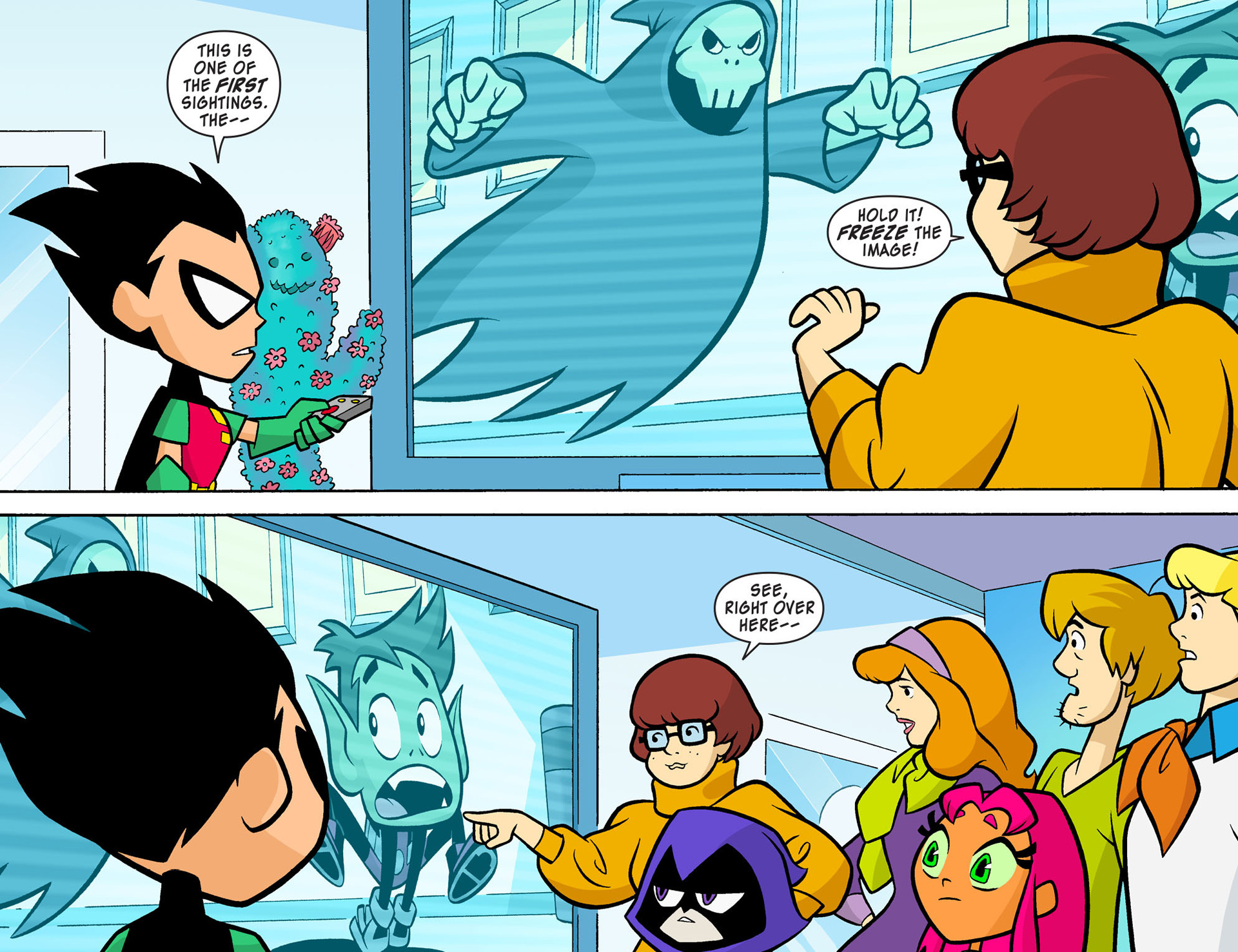 Read online Scooby-Doo! Team-Up comic -  Issue #7 - 12