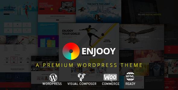 ENJOOY v2.5 – Responsive Multi-Purpose WordPress Theme