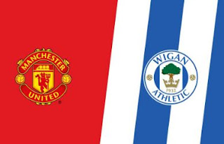 Susunan Pemain Manchester United vs Wigan Athletic