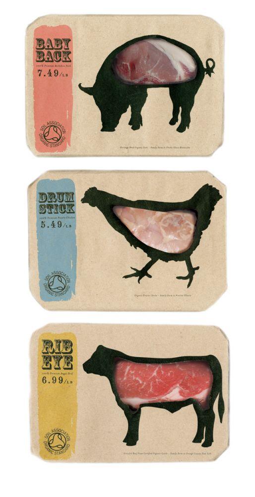 Bao bì đựng sản phẩm thịt gia xúc, gia cầm tươi sống