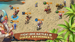 Kingdoms and Lords v1.5.2n Mod Apk Offline (Unlimited Diamond)