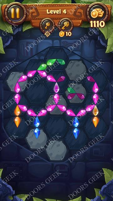 Gems & Magic [Tourmaline] Level 4 Solution, Walkthrough, Cheats