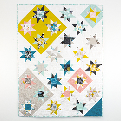 Bewitching Star Bright Quilt Free Pattern