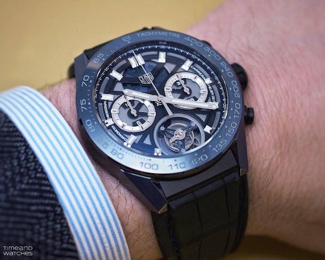 "TAG Heuer Carrera ""Tête de Vipère"" Chronograph Tourbillon Chronometer"