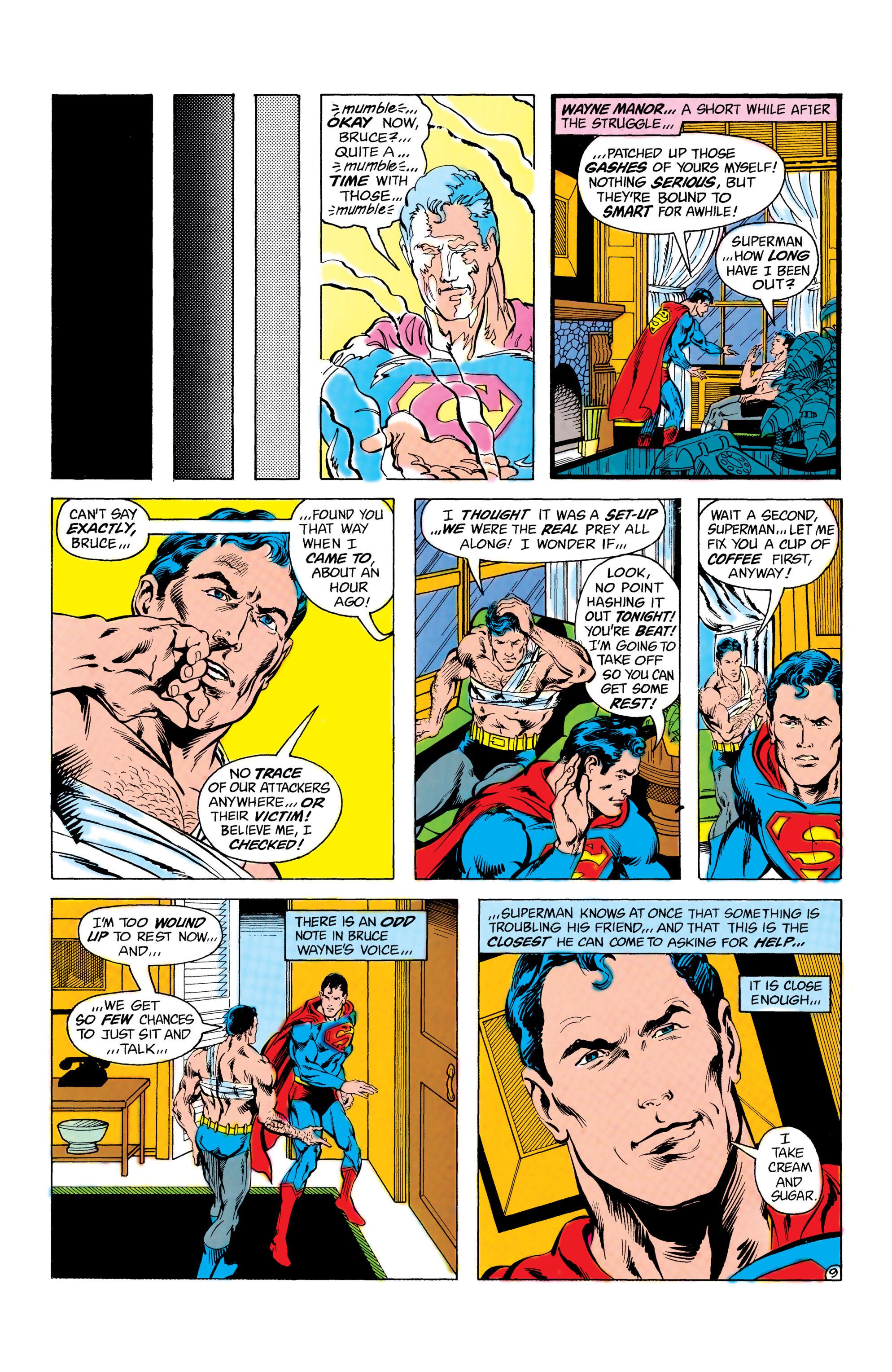 Read online World's Finest Comics comic -  Issue #285 - 10