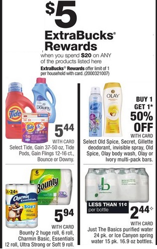 Hot Deals On Tide Or Gain Laundry Detergent Charmin Bath Tissue And Bounty Paper Towels At Cvs 8 6 8 12 Cvs Couponers