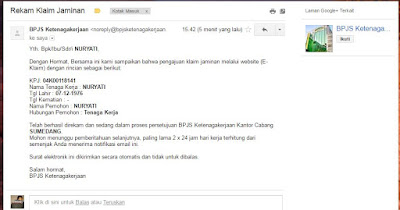 Contoh Formulir Jamsostek Terbaru - JobsDB