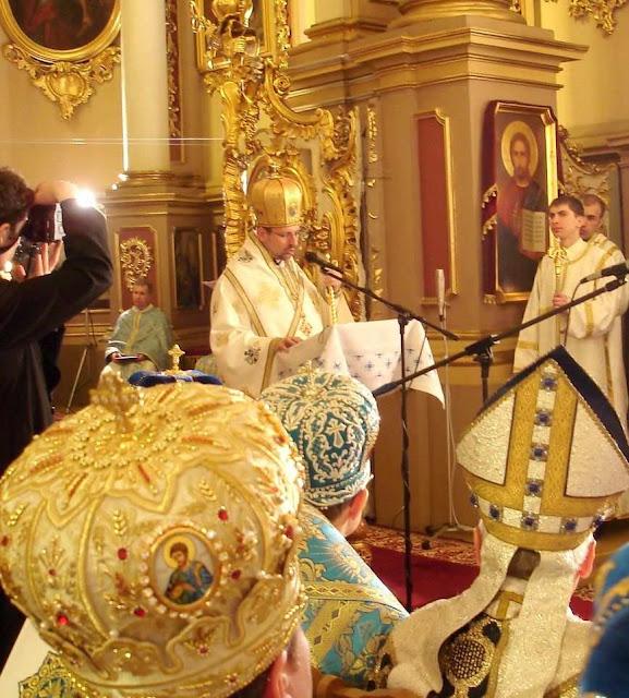 Dom Sviatoslav Shevchuk, acebispo mor do rito greco-católico ucraniano